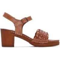 Sandalias de piel con tacón TRESSIE