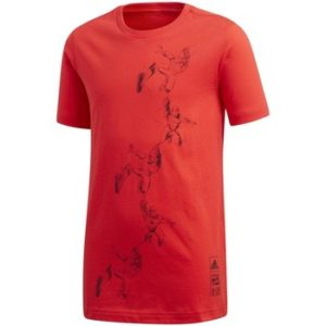 SPIDERMAN ADIDAS TRAINING APPAREL CAMISETA JUNIOR ROJO INTENSO