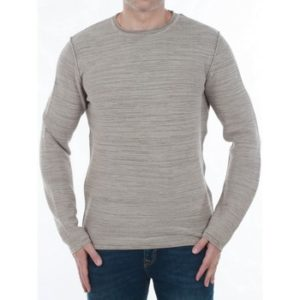 12127398 JJVBALE KNIT CREW NECK BRINDLE / KNIT FIT