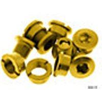Comprar Tornillos estrechos de aluminio 7075 para plato externo Brand-X