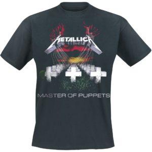 Comprar Metallica Master Of Puppets Camiseta Negro