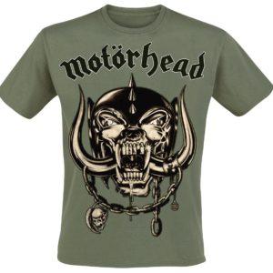 Comprar Motörhead Army Green Warpig Camiseta Aceituna