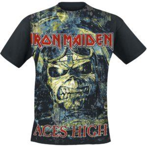 Comprar Iron Maiden Aces High Camiseta Negro