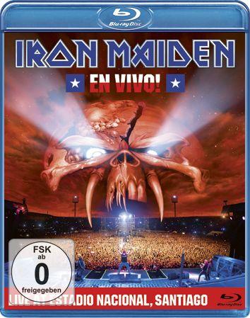 Comprar Iron Maiden En vivo Blu-ray Disco standard
