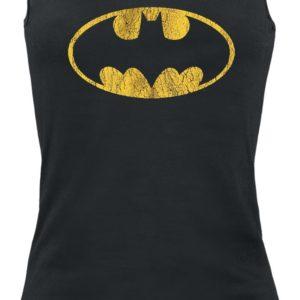 Comprar Batman Vintage Logo Top Mujer Negro