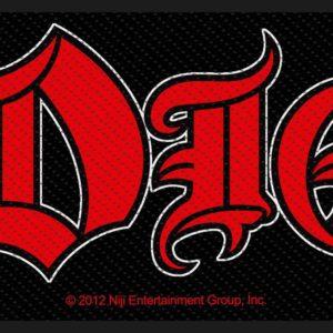 Comprar Dio Logo Parche Standard