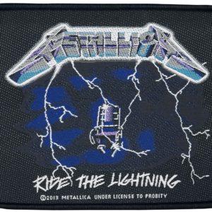 Comprar Metallica Ride the lightning Parche standard
