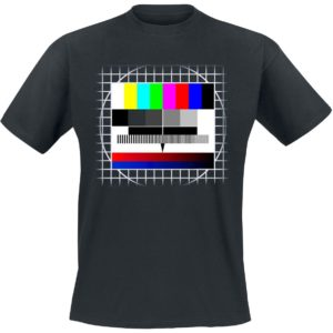 Comprar Fondo Test TV Camiseta Negro