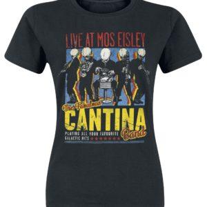 Comprar Star Wars Cantina Band On Tour Camiseta Mujer Negro
