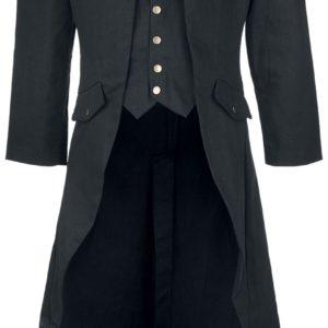 Comprar Banned Dovetail Coat Abrigo Negro