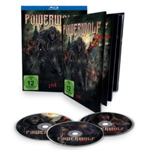 Comprar Powerwolf The Metal mass live 2-Blu-ray & CD Standard