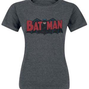 Comprar Batman Authentic Logo Camiseta Mujer Gris oscuro