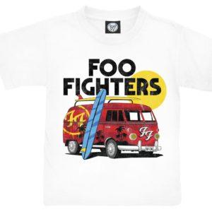 Comprar Foo Fighters Van Camiseta de Niño/a Blanco