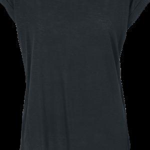 Comprar R.E.D. by EMP Camiseta Long Back Shaped Slub Camiseta Mujer Negro