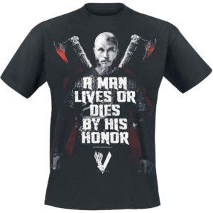 Comprar Vikings Honor Camiseta Negro