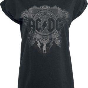 Comprar AC/DC Black Ice Camiseta Mujer Negro