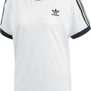 Comprar Adidas 3 Stripes Tee Camiseta Mujer blanco-negro