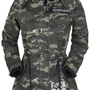 Comprar Five Finger Death Punch EMP Signature Collection Chaqueta Mujer camuflaje