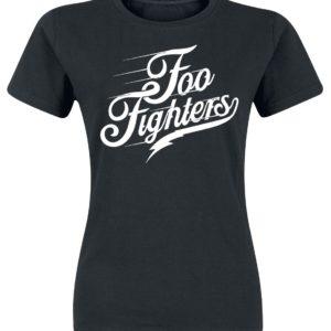 Comprar Foo Fighters Logo Camiseta Mujer Negro