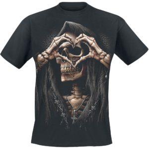 Comprar Spiral Dark Love Camiseta Negro