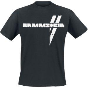 Comprar Rammstein Weiße Balken Camiseta Negro