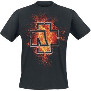 Comprar Rammstein Lava Logo Camiseta Negro