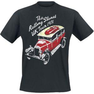 Comprar The Rolling Stones UK Tour 1971 Camiseta Negro