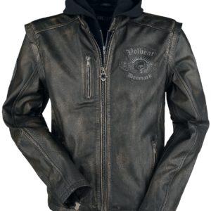 Comprar Volbeat EMP Signature Collection Cazadora de cuero negro/marrón