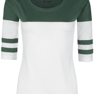 Comprar R.E.D. by EMP Come Out And Play Manga larga Mujer blanco-verde