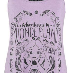 Comprar Alicia en el País de las Maravillas Adventures In Wonderland Top Mujer morado/negro