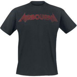 Comprar Airbourne Cracked Logo Camiseta Negro