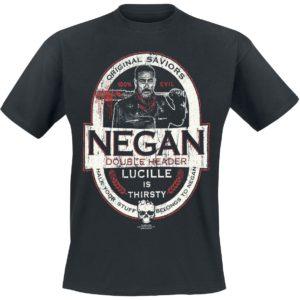 Comprar The Walking Dead Negan - Double Header Camiseta Negro