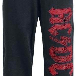 Comprar AC/DC Logo Pantalones de gimnasia Negro