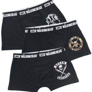 Comprar The Walking Dead 3er Pack Calzoncillos boxer Negro
