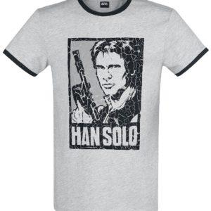 Comprar Star Wars Han Solo Camiseta gris claro jaspeado/negro
