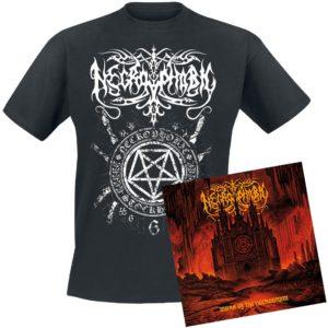 Comprar Necrophobic Mark of the necrogram CD & Camiseta standard