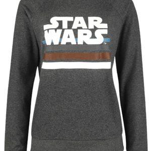Comprar Star Wars Logo Sudadera mujer Gris oscuro