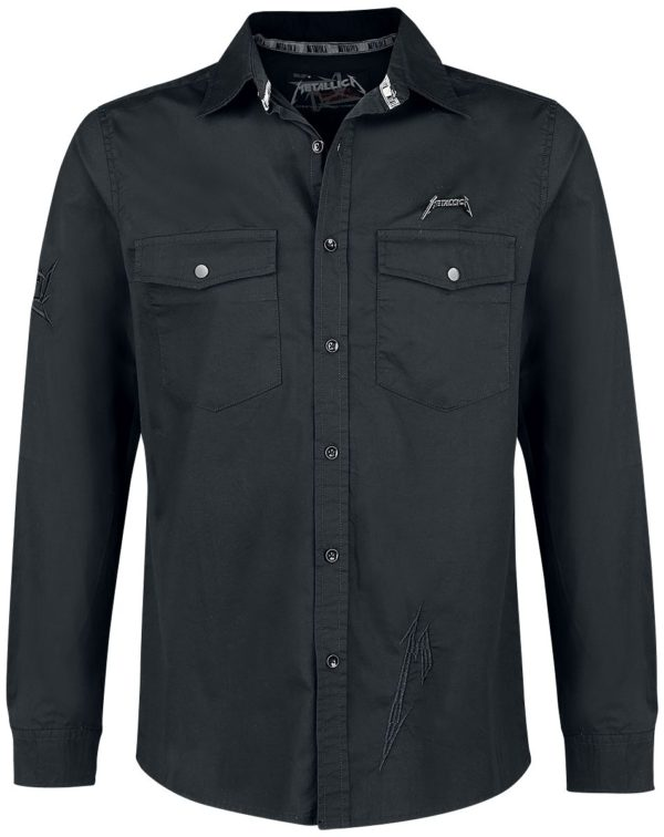 Comprar Metallica EMP Signature Collection Camisa Negro