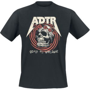 Comprar A Day To Remember Flower Skull Camiseta Negro