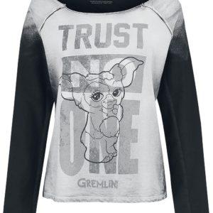 Comprar Gremlins Trust No One Sudadera mujer blanco/gris