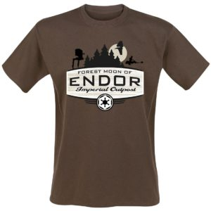 Comprar Star Wars Forest Moon Camiseta Marrón