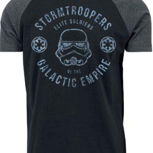 Comprar Star Wars Galactic Empire Stormtrooper Camiseta negro/gris marengo