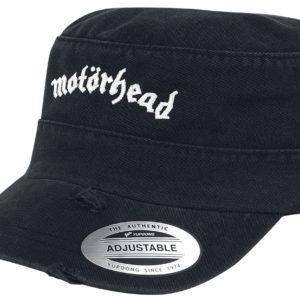 Comprar Motörhead Destroyed Logo Army Cap Gorra del ejército Negro
