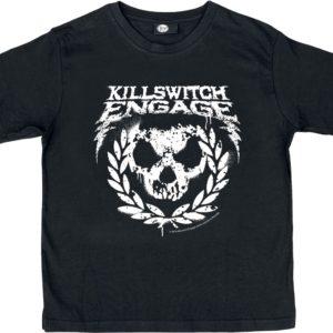 Comprar Killswitch Engage Skull Leaves Camiseta de Niño/a Negro