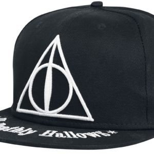 Comprar Harry Potter The Deathly Hallows Snapback Cap Negro