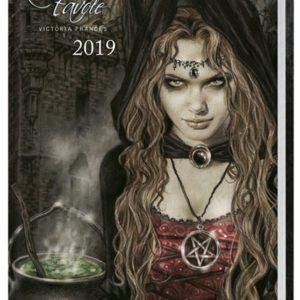 Comprar Victoria Francés Favole Kalenderbuch A6 2019 Libro calendario multicolor
