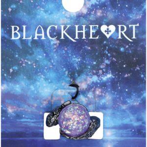 Comprar Blackheart Crystal Ball Anillo negro/lila