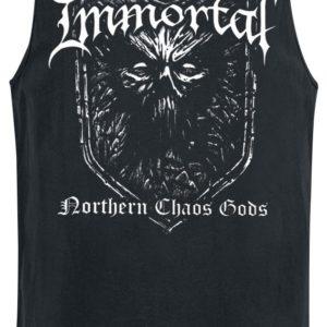 Comprar Immortal Northern chaos gods Camiseta Tirantes Negro