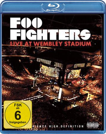 Comprar Foo Fighters Live at Wembley Stadium Blu-ray Disco standard