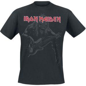 Comprar Iron Maiden Eddie Bass Camiseta Negro